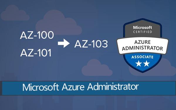 Azure Administrator AZ-103 Practice Test Questions